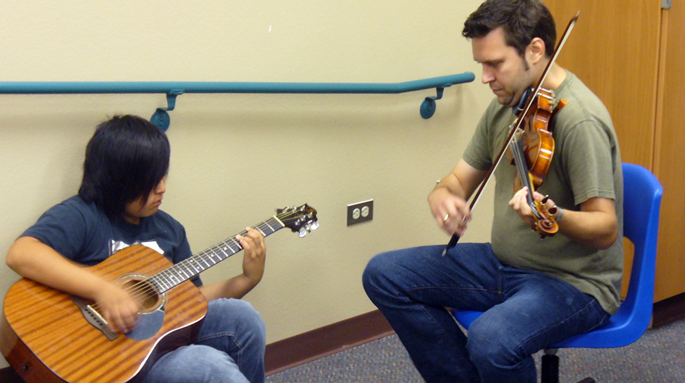 Close look: Grand Canyon Music Festival, 2013 New Music Educator Award Recipient