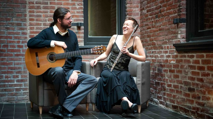 Duo Damiana Debut Recording: adventurous repertoire for flute and guitar | New Music USA