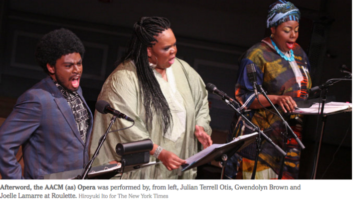 Image for George Lewis: Afterword, The AACM (as) Opera + International Contemporary Ensemble