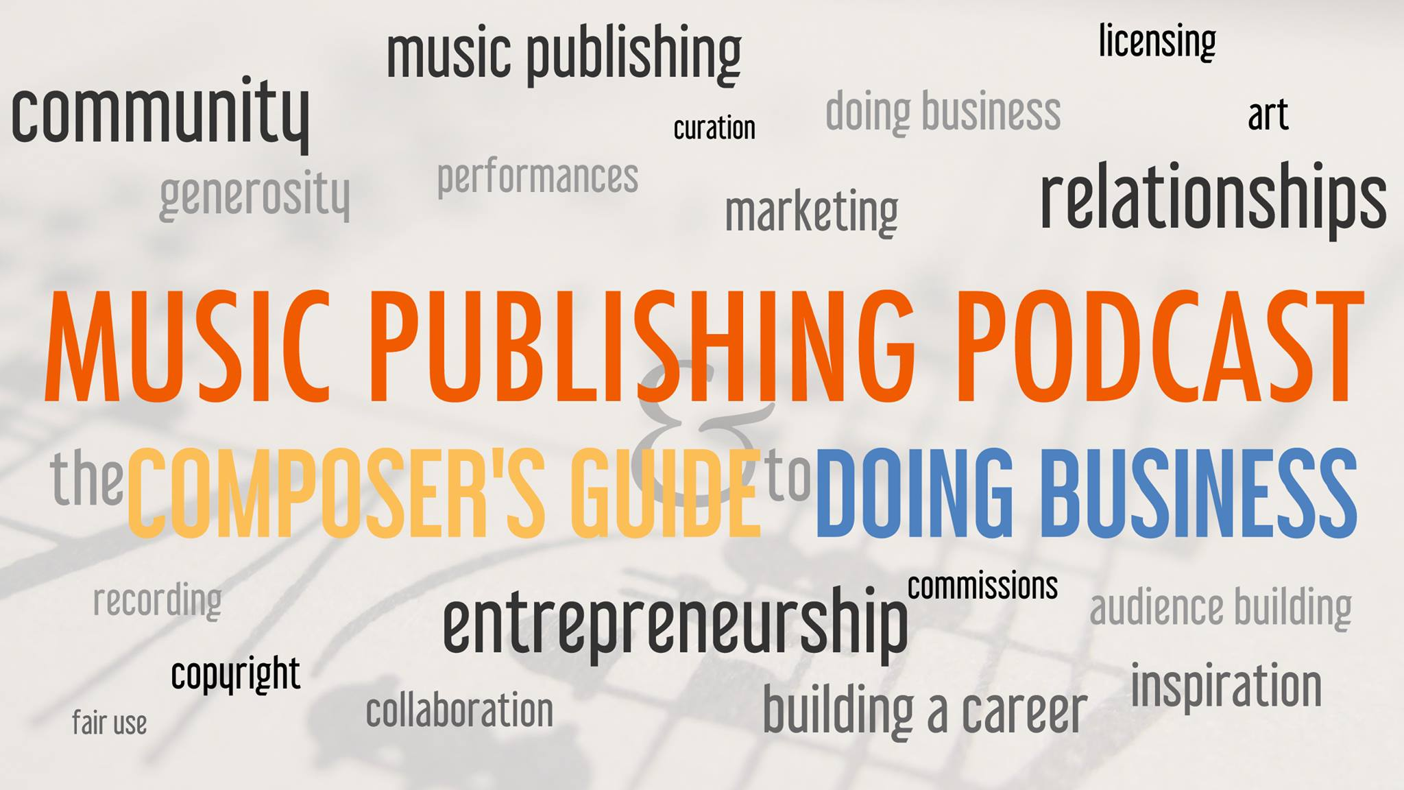 Project Grants on Music Publishing Podcast