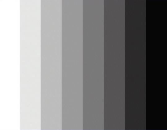 A monochromatic gradient