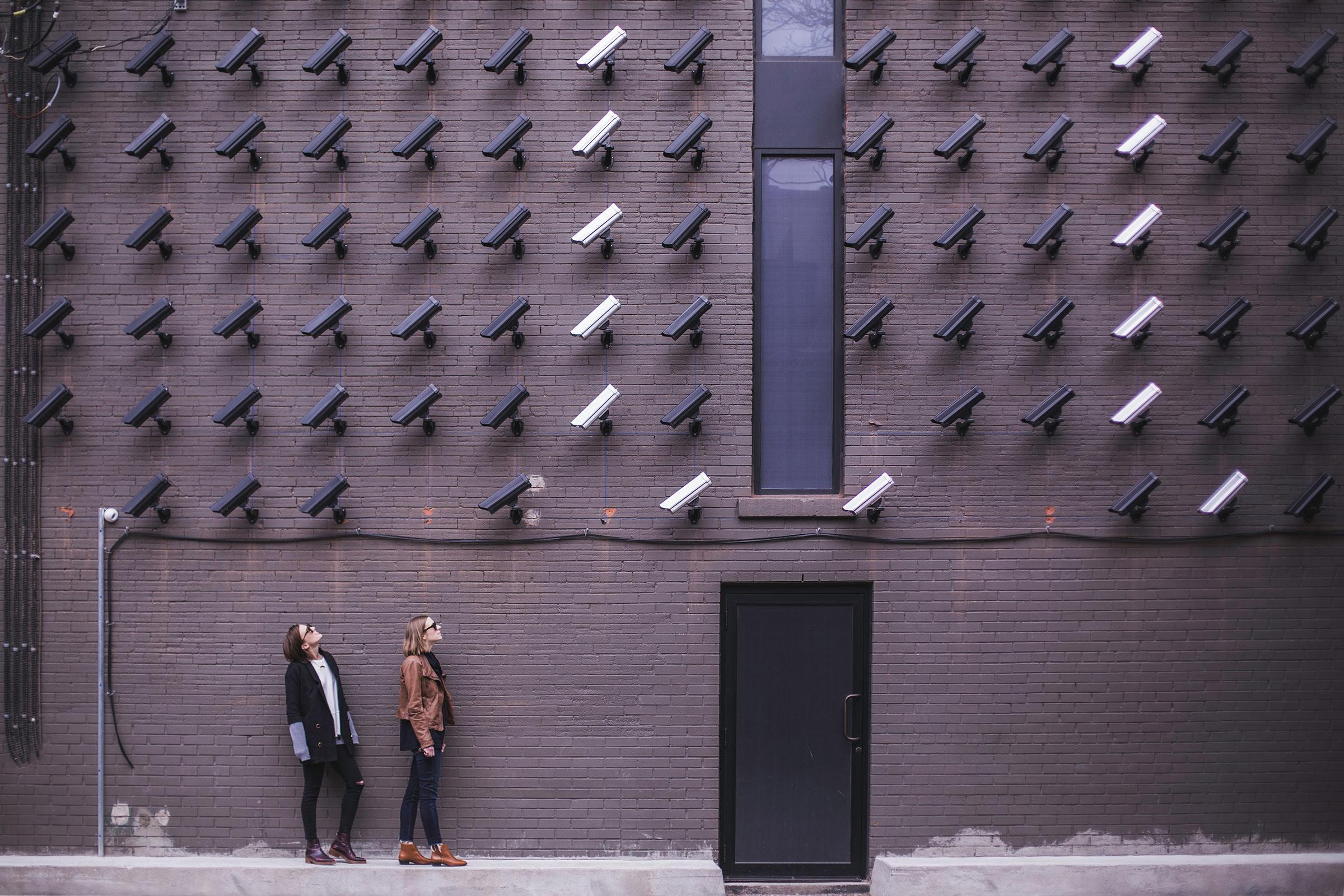 women on CCTV