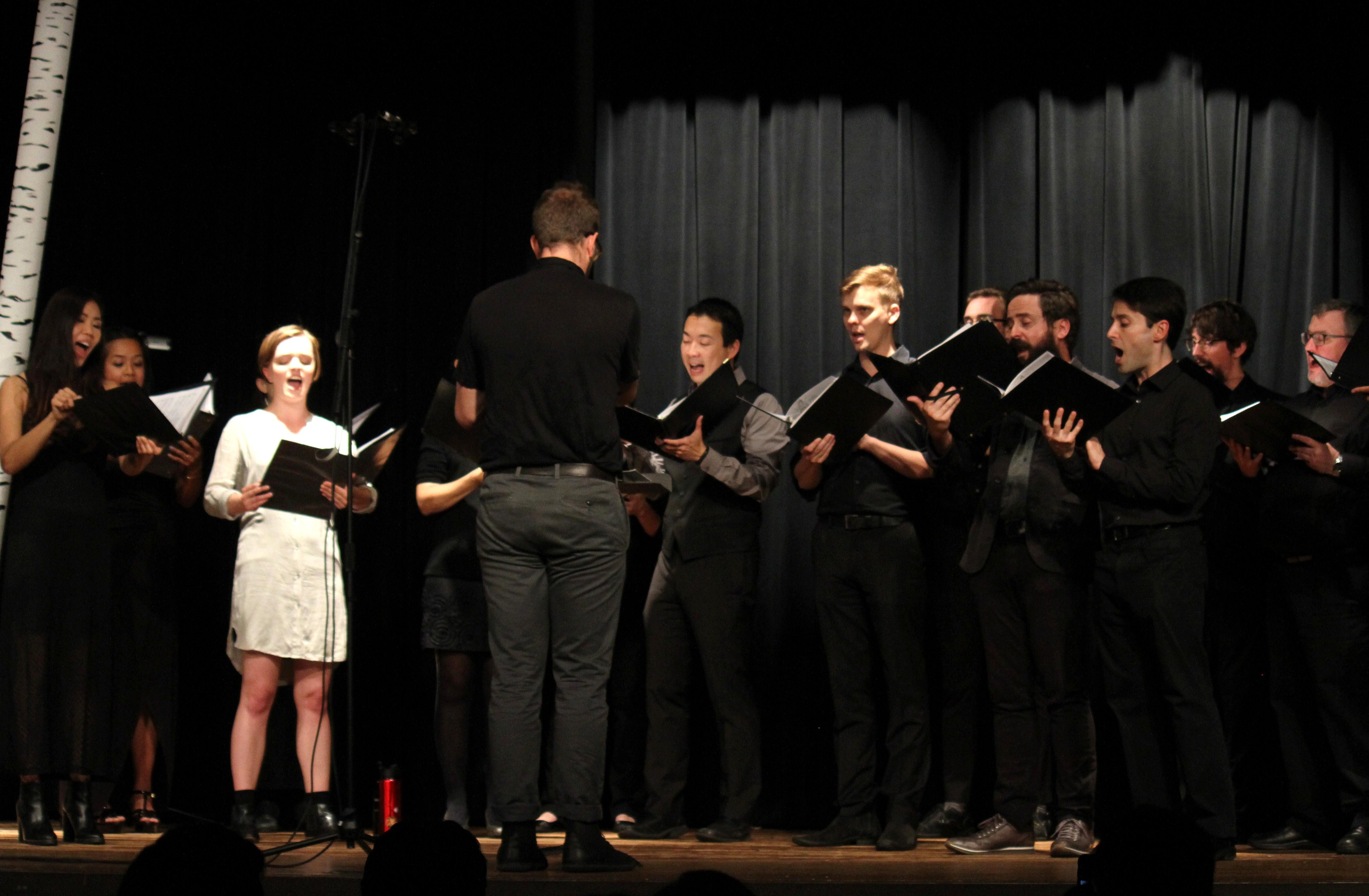 c3la performing Fahad Siadat's Hymn to Aethon