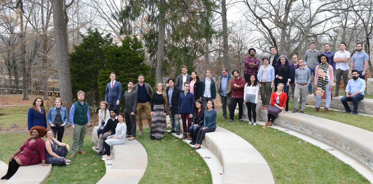 NOTUS, Indiana University's Contemporary Vocal Ensemble, 2017-2018 (Photo by Julian Morris)