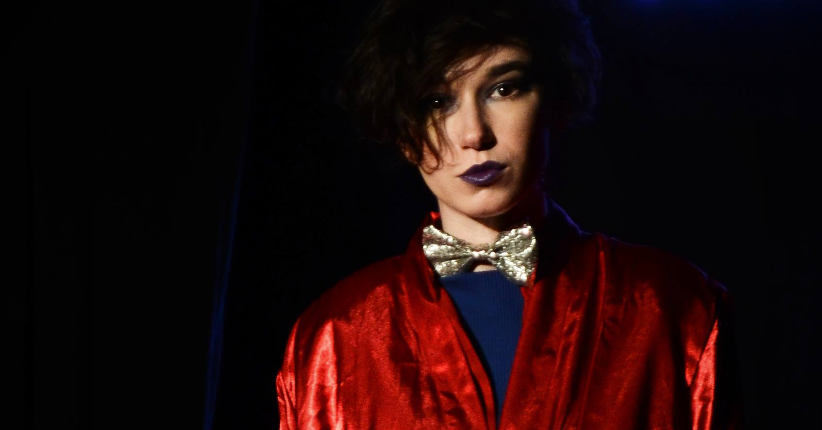 Alexa Rosenberg as Prince Orlofsky from OperaRox's Opera Rave Masquerade at the Stonewall Inn (photo credit Heather Bobeck)
