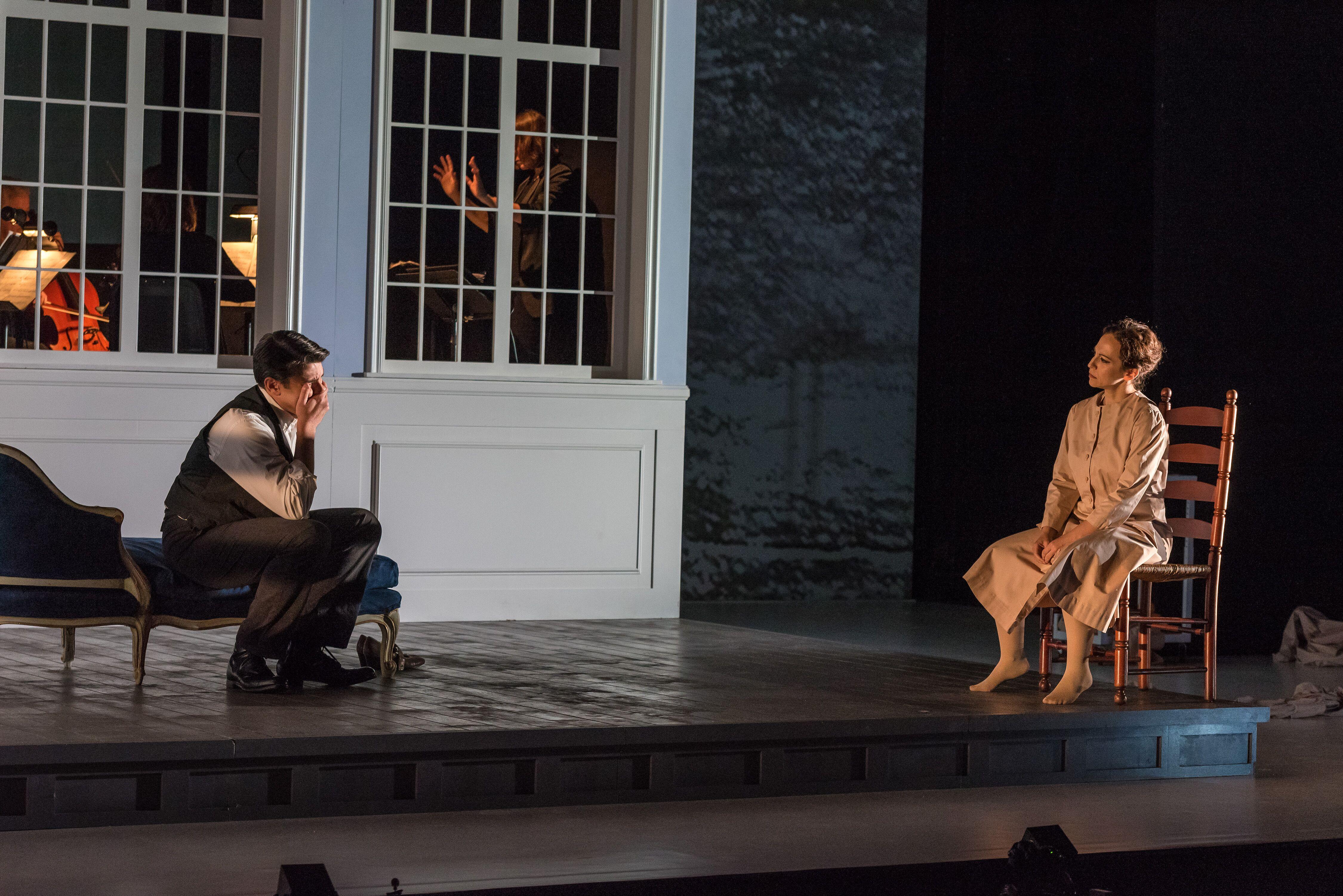 From Opera Saratoga's 2019 world premiere production of Ricky Ian Gordon and Frank Bidart's opera Ellen West (photo by Gary David Gold, courtesy Verismo Communications)