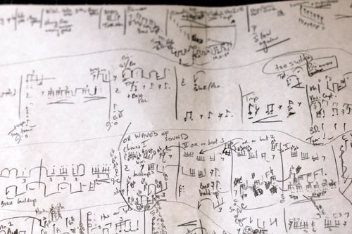 Pierre Jalbert shorthand page