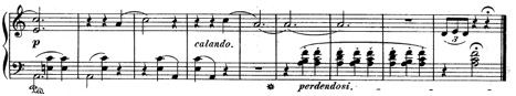 Chopin, Op. 17, No. 4, final cadence for a set of Mazurkas