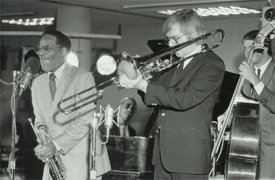 Clark Terry and Bob Brookmeyer