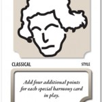 Beethoven playing card