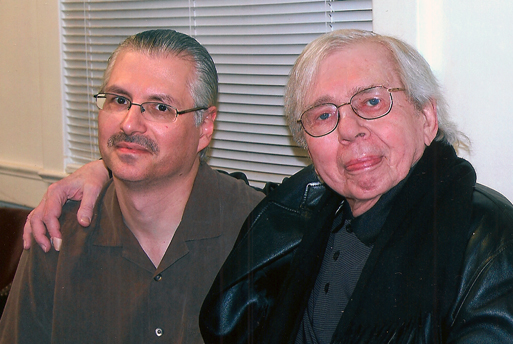 Dave Rivello and Bob Brookmeyer