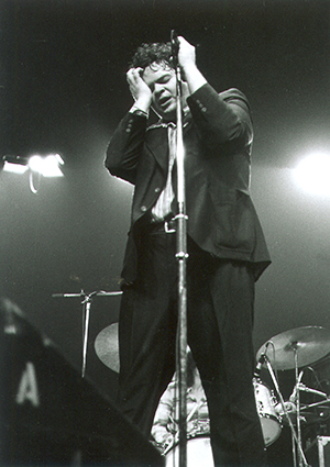 Pere Ubu May 5 1978. Brussels, Theatre 140. Photo Credit: Marcus Portee