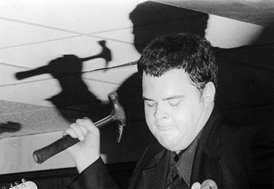 Pere Ubu 1978-79. Location unknown.