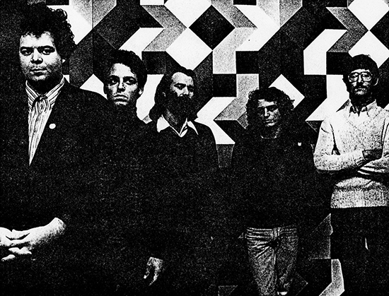 Pere Ubu 1978. Xerox from lost photo session, London