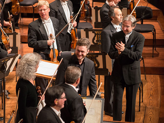 Samuel Carl Adams at the San Francisco Symphony. Photo by Kristen Loken