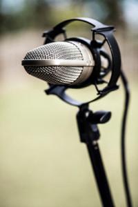 Recording in a field