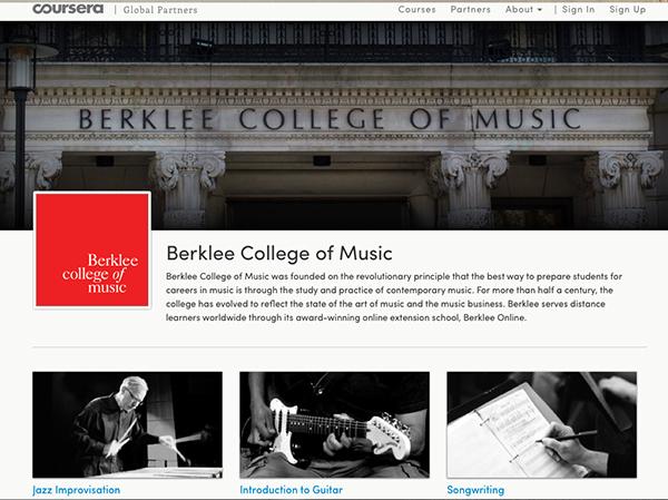 Berklee MOOCs