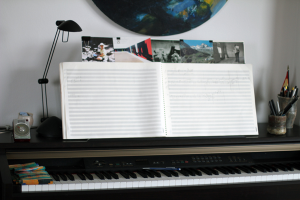 Kaminsky's composition studio
