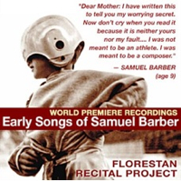 Florestan Recital Project: Early Songs of Samuel Barber