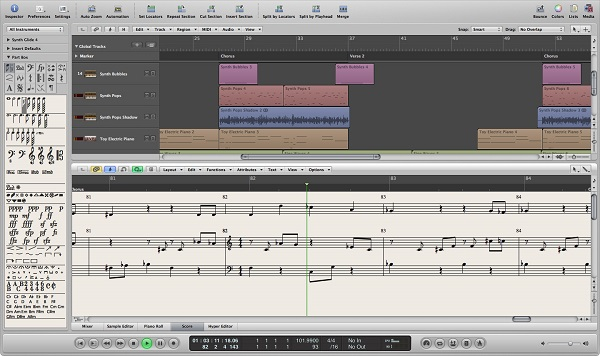 Logic Pro screen cap