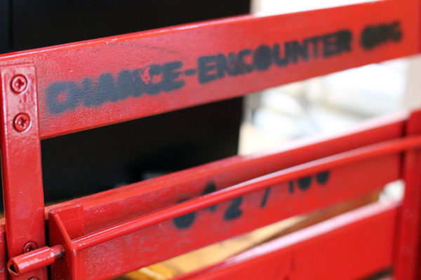 Souvenir chair from Chance Encounters