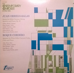 The LP that started my search for Juan Orrego-Salas.