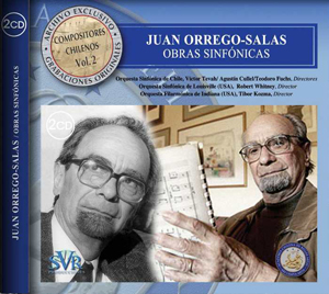 The cover of SVR's Orrego-Salas release
