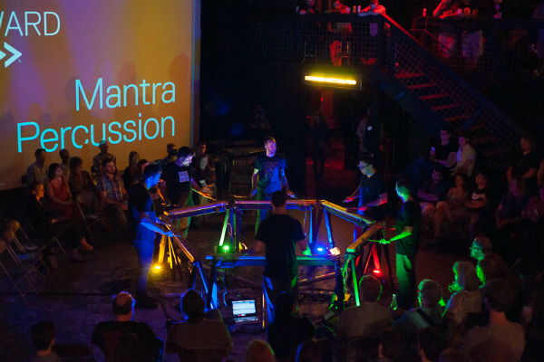 Mantra Percussion - Photo by Steve Sachse