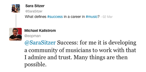 twitter success definition