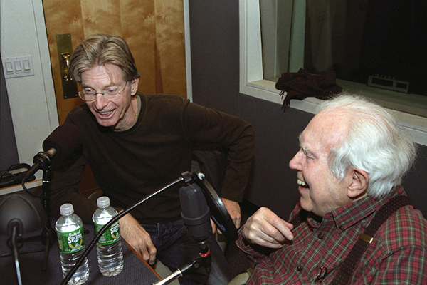 Elliott Carter and Phil Lesh