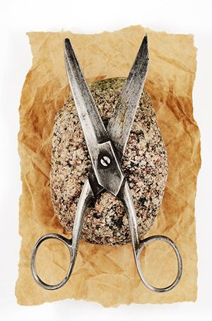 Rock Paper And Vintage Scissors
