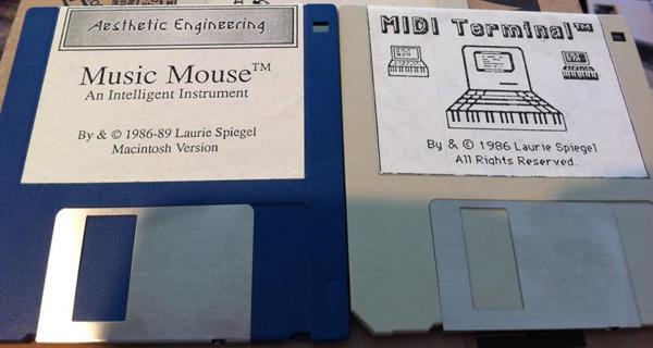 Two 3.5 inch floppy discs