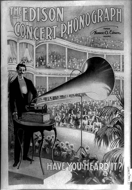 Advertisement ca. 1899 (via the Library of Congress).