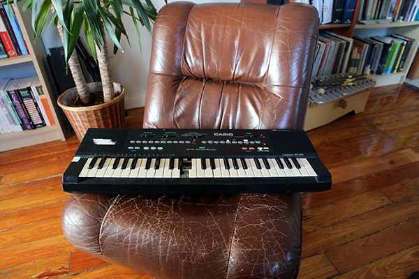 Bell's Casio keyboard