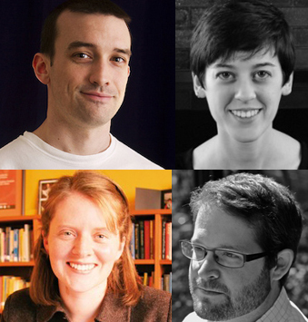 Headshots of the four 2015 Berkeley EarShot composers
