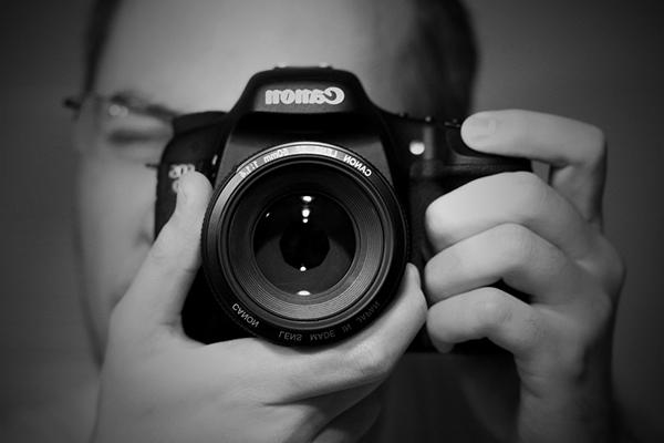 Selfie w Canon
