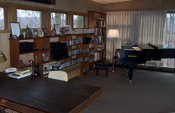 Copland's desk