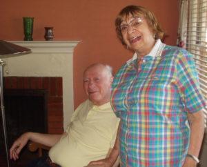 Dwight and Ursula Mamlok. (Photo by Alex Shapiro)