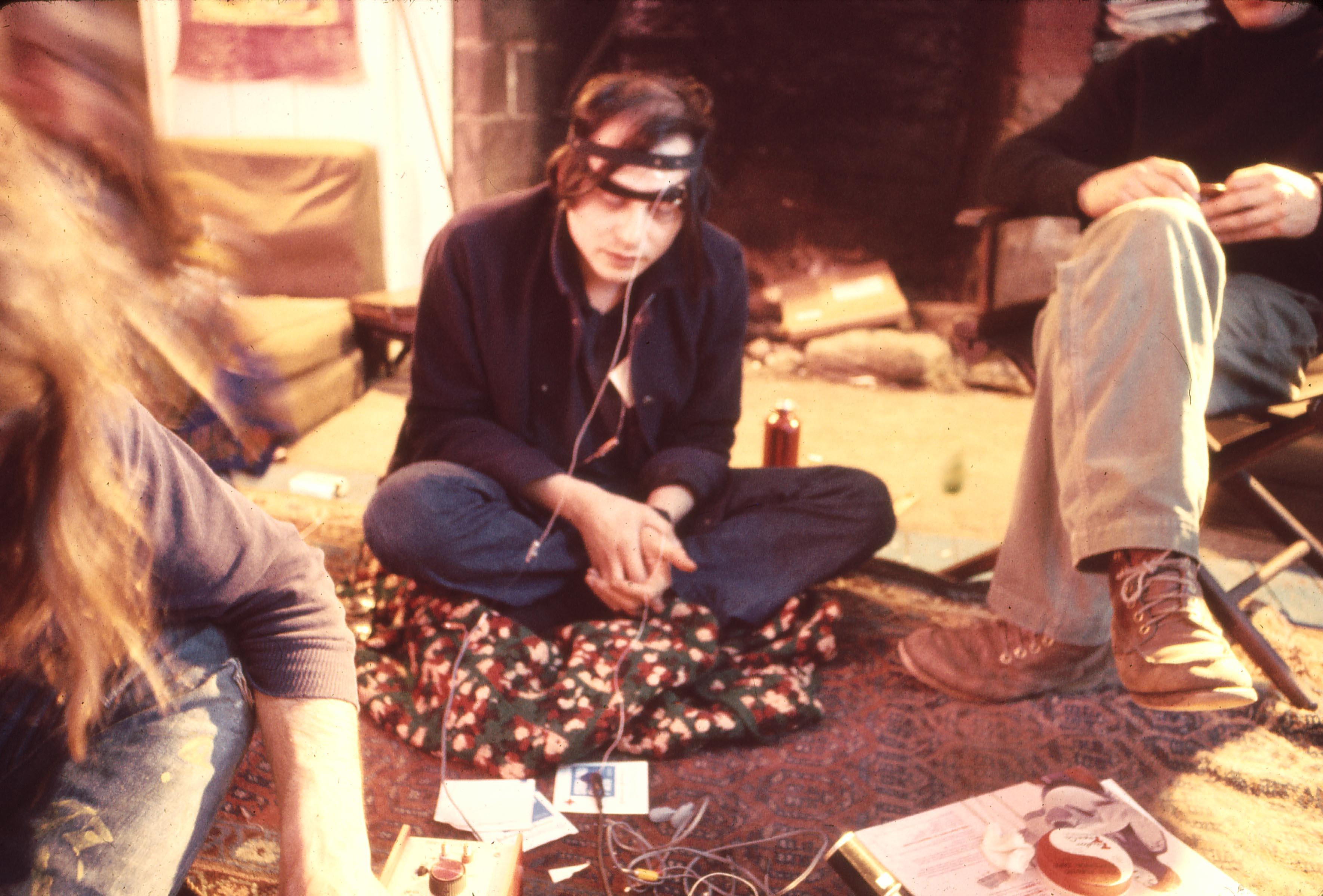 Serge Tcherepnin, brainwave experiments at Harmony Ranch, 1970