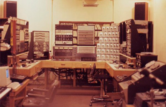 The Columbia Princeton Electronic Music Center in 1985.