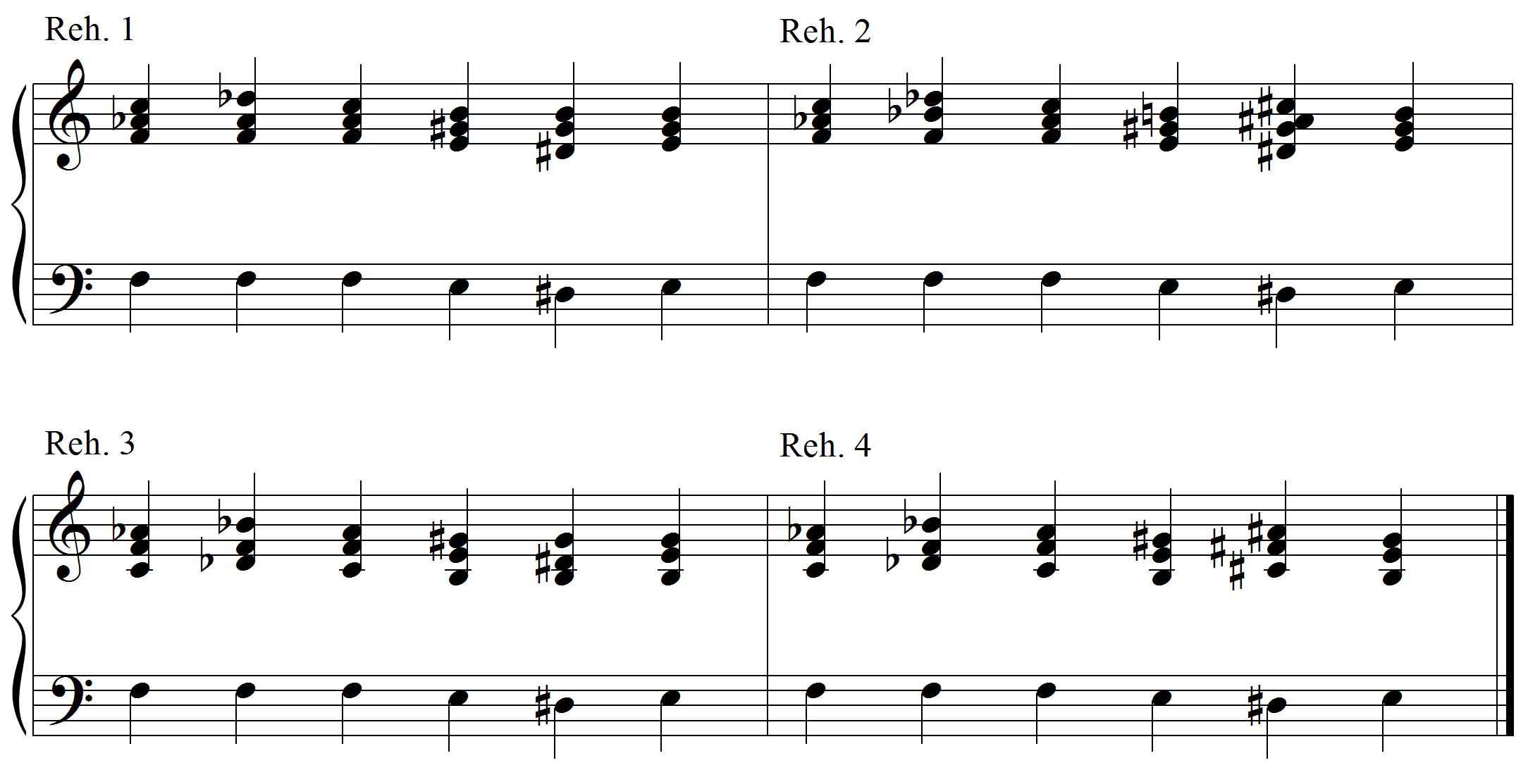 harmony example