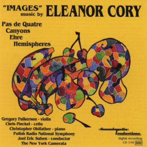 The cover for Eleanor Cory's CD Images.