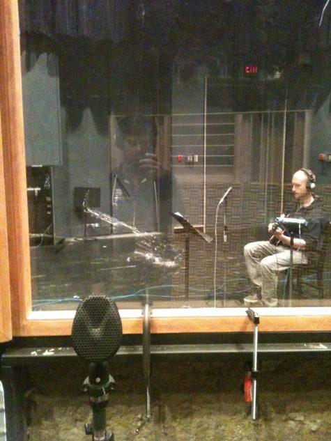 Aakash and Julius at Banff Recording Studio