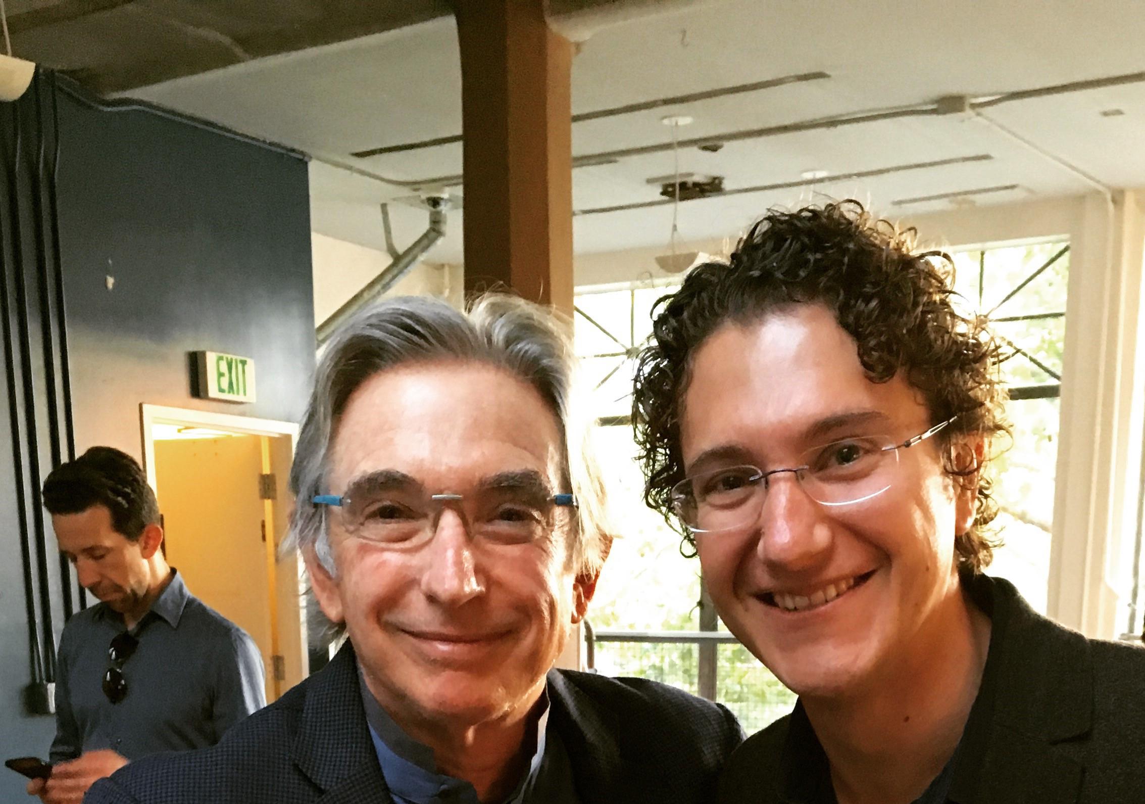 Michael Tilson Thomas and Teddy Abrams