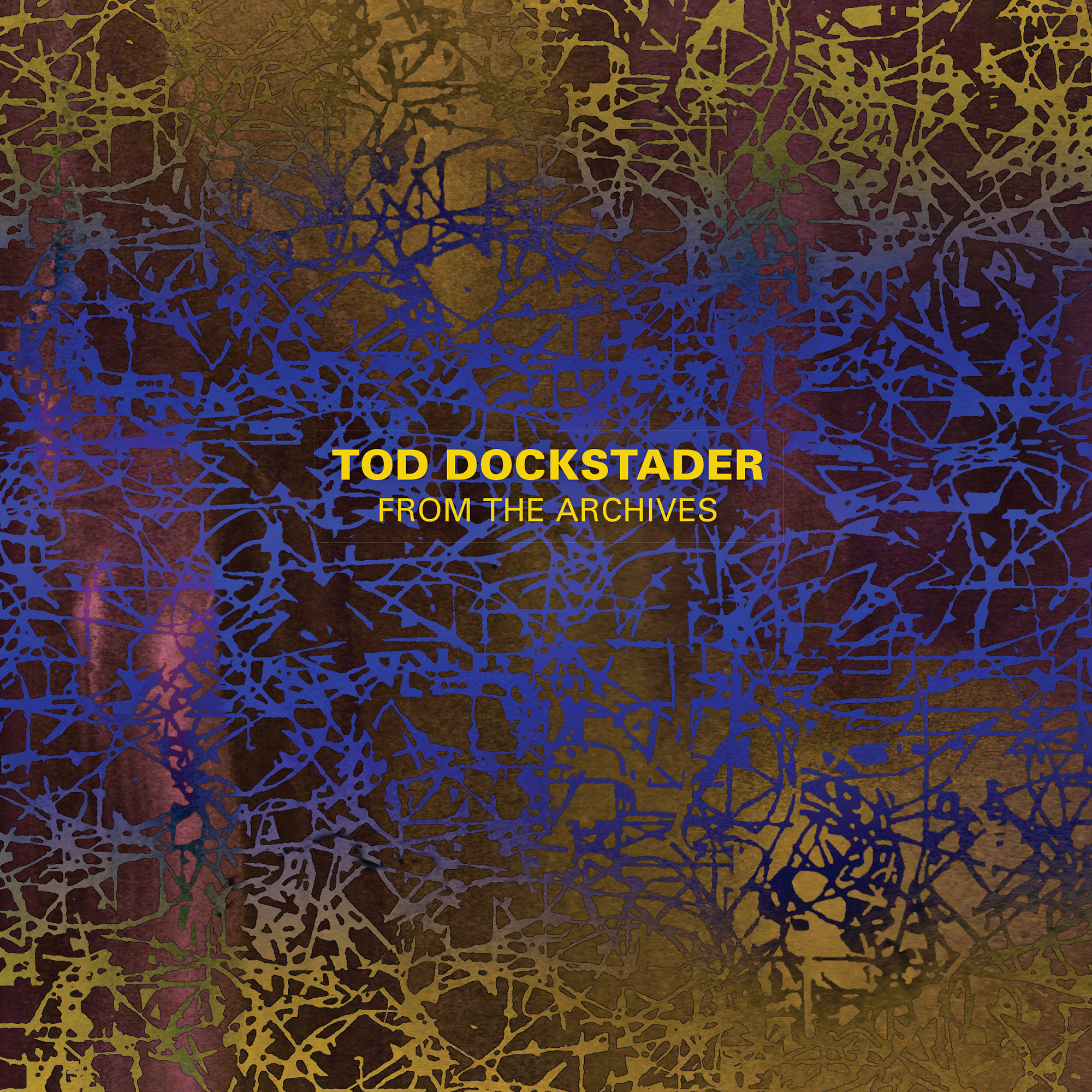 The cover for the latest Starkland CD release, Tod Dockstader From The Archives.
