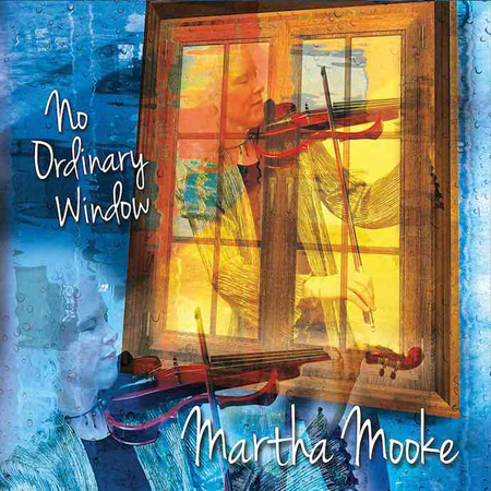 The cover for Martha Mooke's latest CD, No Ordinary Window.
