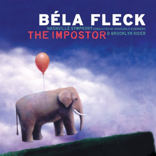 The cover of Béla Fleck's 2012 Deutsche Grammophon CD The Imposter