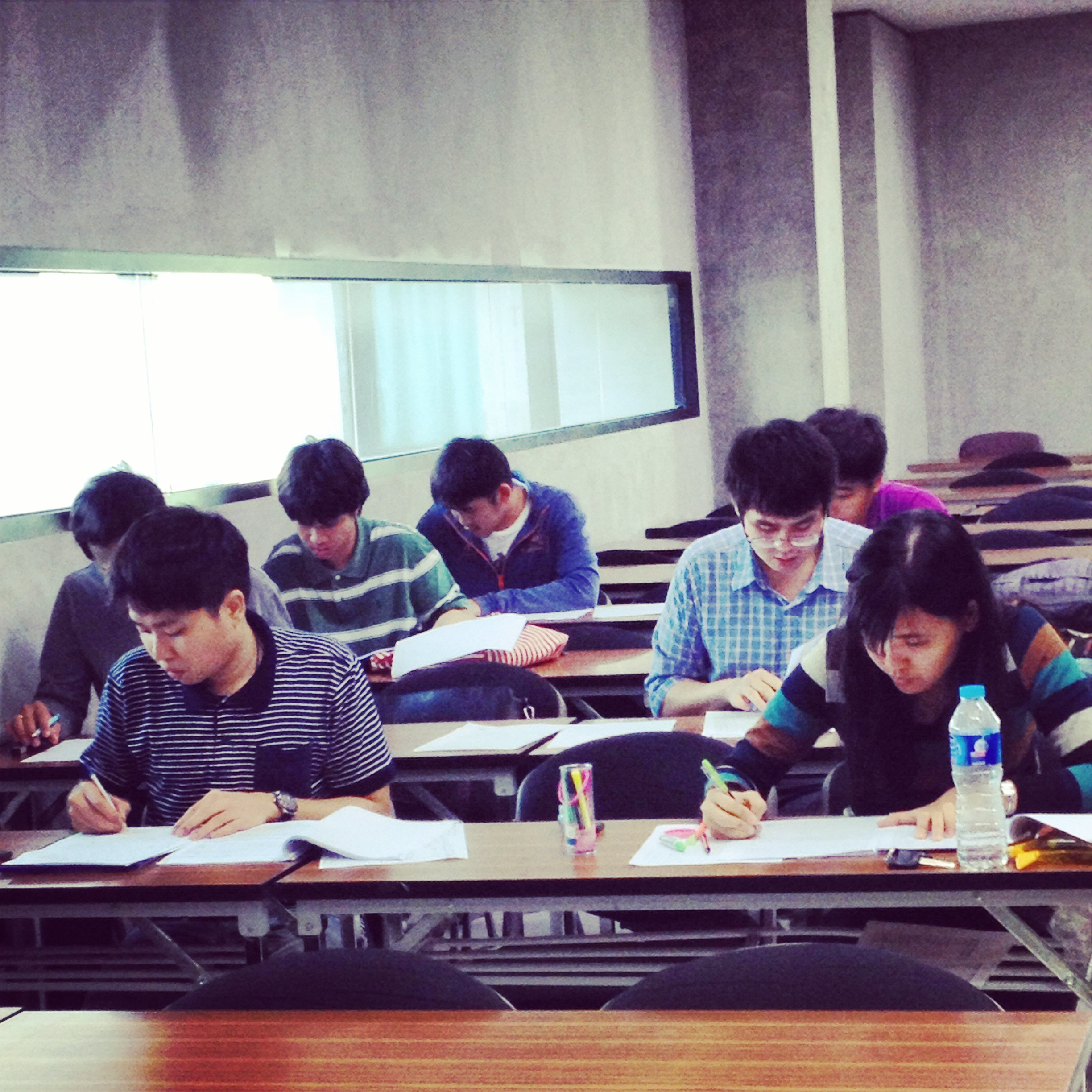 Students in one of Judy Bozone's classes at Mahidol University's College of Music