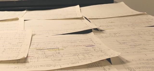 Carta No. 25 music manuscript paper