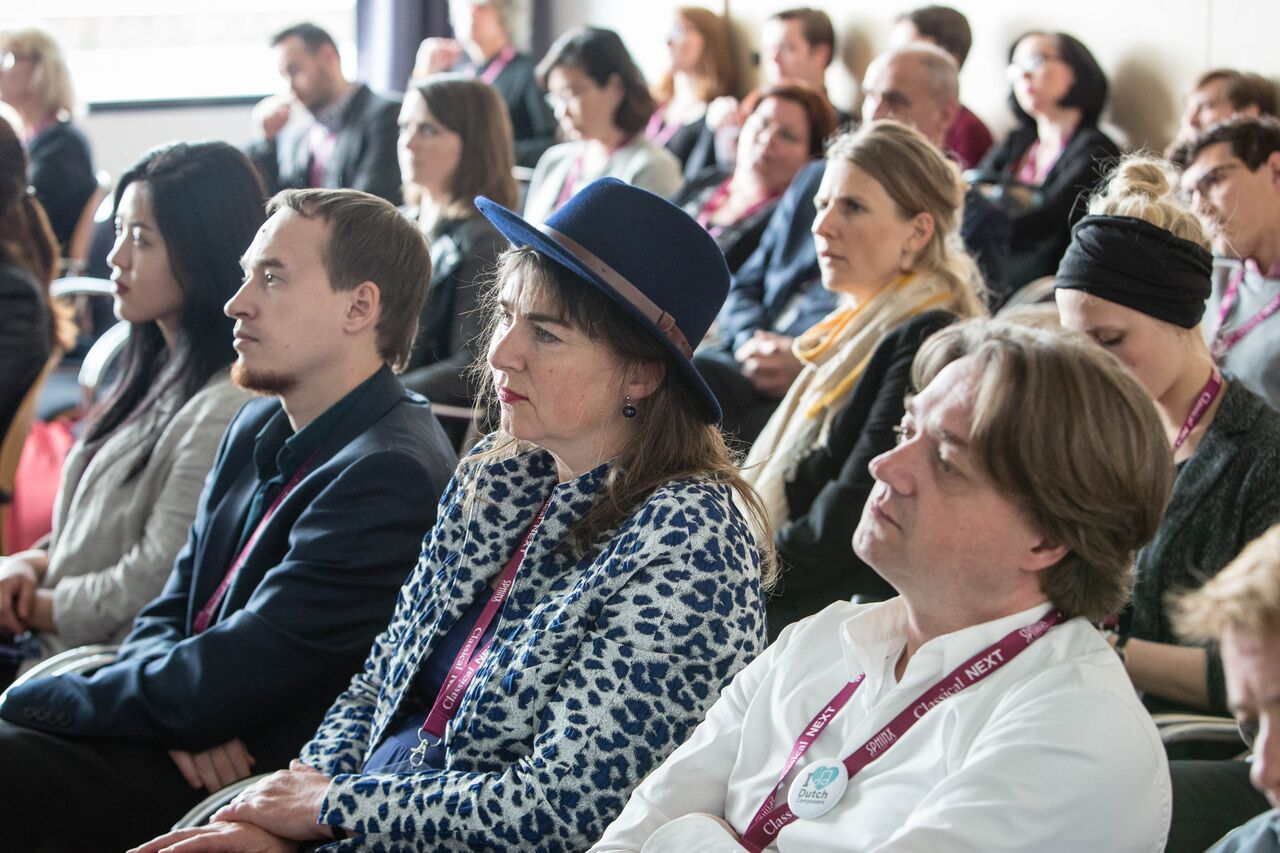 Classical:NEXT attendees. (Photo by Eric van Nieuwland)